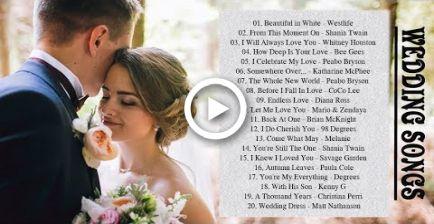Best Romantic Wedding Songs 2017 Songs To Walk Down the Aisle