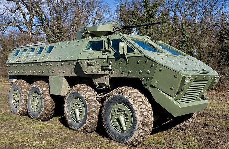 Lazar BTR-SR-8808 8x8 multi-purpose armored vehicle 8x8 is designed ...