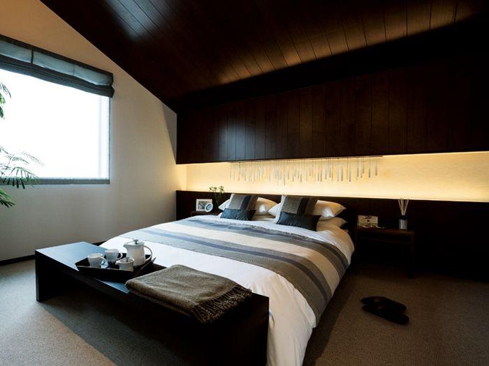 ゆったりとしたマスターベッドルーム イメージ
