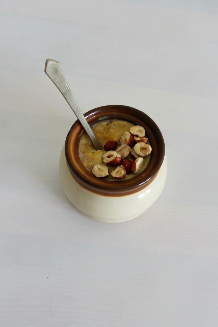 When aisha cooks how to make oatmeal custard my style aisha -  Pumpkin Oatmeal Owsianka Dyniowa