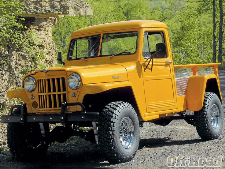 1962 Jeep Willys Overland Front Left View