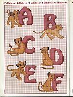 The Lion King alphabet (1)