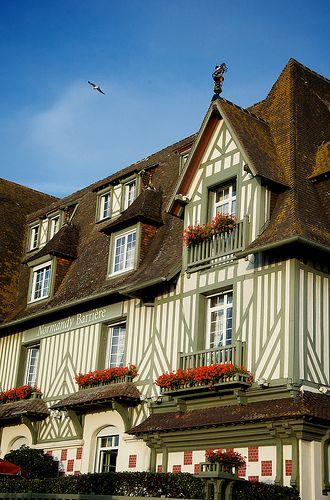 Maison à colombages - Deauville, Calvados, France.