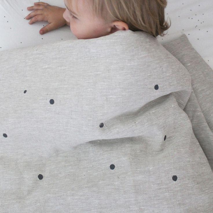 linen / cotton doona cover by Hello Milky