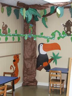 Jungle Safari Theme Classroom | Blessings for Bible School Teachers: Wild About Bible Class Theme