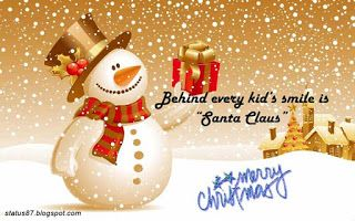 Merry Christmas Status, Short Christmas quotes, wishes, messages for whatsapp and facebook - Whatsapp Status and quotes