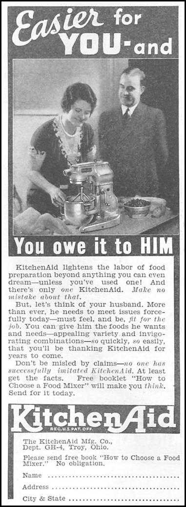 Yeah, you OWE him...you must be his slave and cook snazzy meals so he'll keep bringing the paycheck home.