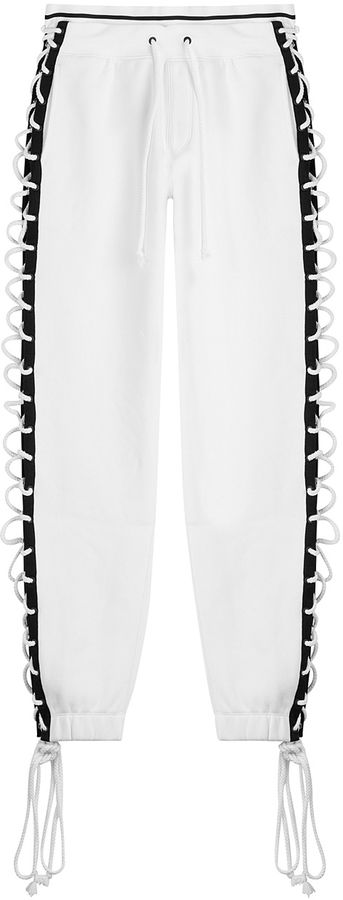 Fenty x Puma by Rihanna Cotton Pants with Lace-Up Sides