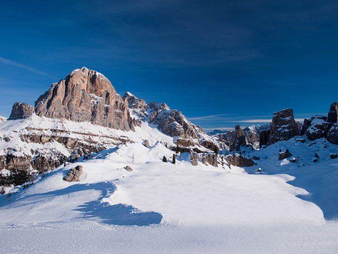 The Dolomites Ski Cortina d'Ampezzo Queen of the Dolomiti www.euroscape-travel.com