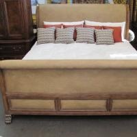 Feeling tropical breezes now! Sleigh Bed $1,695