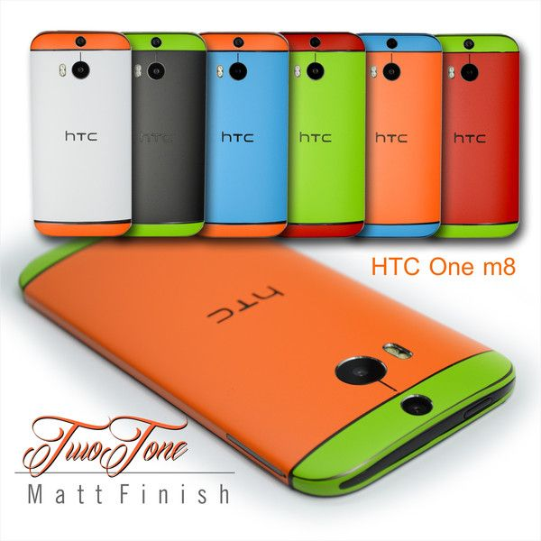 Colorful Two Tone Edition HTC ONE M8 by www.easyskinz.com