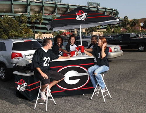 This Is So Awesome Georgia Bulldogs Portable Tailgate