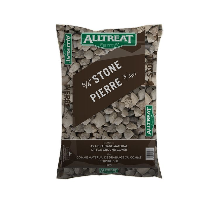 3/4 Stone, for more info go to http://www.alltreat.com