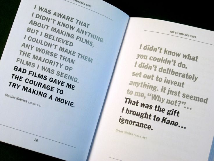 .Stanley Kubrick and Orson Welles - Film Director Quotes