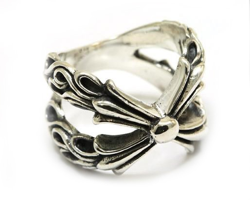 Valuable Ring Ssr114 Bloody Silver Big Cross New | Chrome Hearts Collection