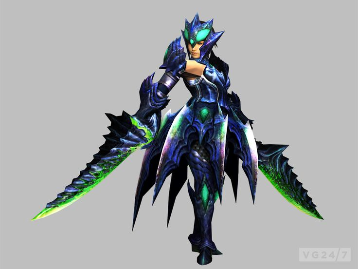 monster hunter 3 ultimate | Monster Hunter 3 Ultimate's Dual Blades detailed