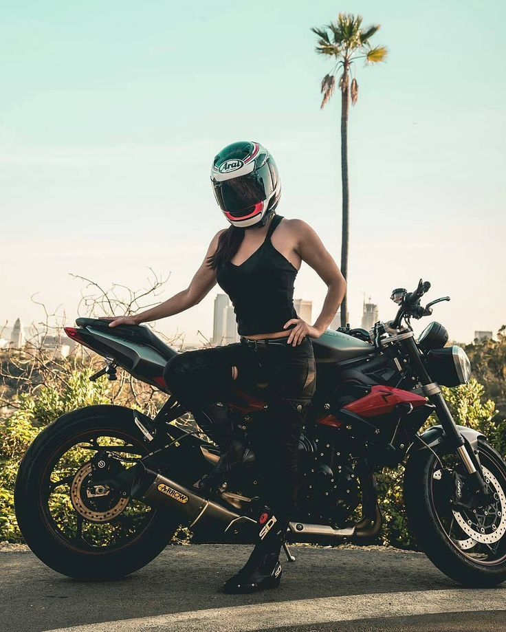 Great shot from @jramx5 of @annettecarrion and her Street Triple R _______________________________________________ Nation merch store, link in bio www.zazzle.com/designsbyck Tag ✔#triumphnation ✔ for a feature or email Triumphnation@yahoo.com ______________________________________________ #triumph #daytona #moto #streettriple #bonneville #bikelife #thunderbird #classic #motogp #yamaha #love #kawasaki #suzuki #ducati #instamotogallery #custom #racing #honda #motorbike #photo #funny #sc...
