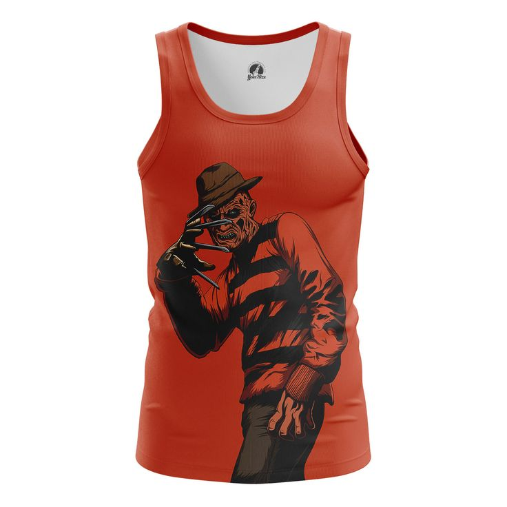 Stunning Mens Tank Krueger A Nightmare on Elm Street   – Search tags:  #boysshirts #boystanks #moviesmerchandise #Tanksformensaustralia #Tanksformensbuy #Tanksformenscanada #Tanksformensuk #tvseriesmerchandisemaletank Check more at https://idolstore.net/shop/categories/apparels-clothes/boys-tank-krueger-a-nightmare-on-elm-street-merch/