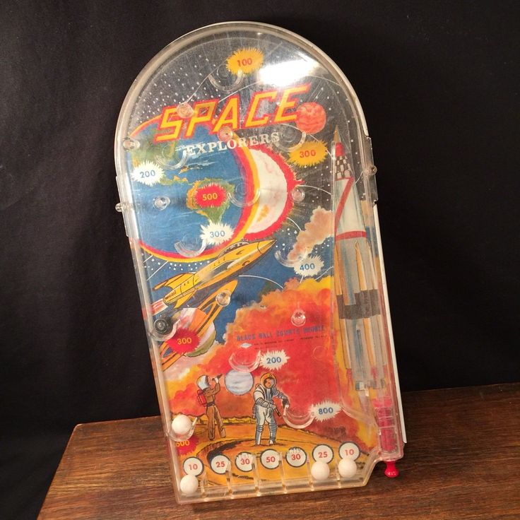Vintage Toy Space Explorer Pinball Game USA by Wolverine PRIORITY MAIL | eBay