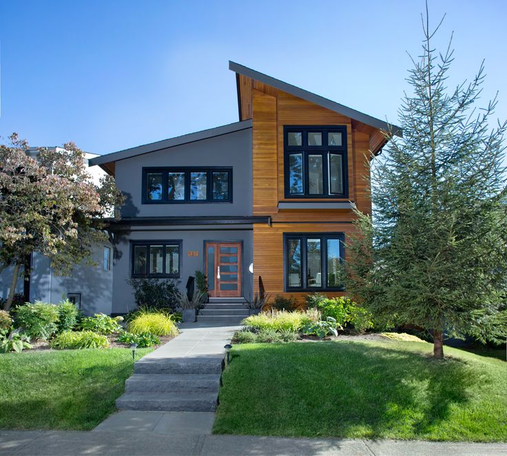 Vancouver, BC Home: Total Overhaul - front view After