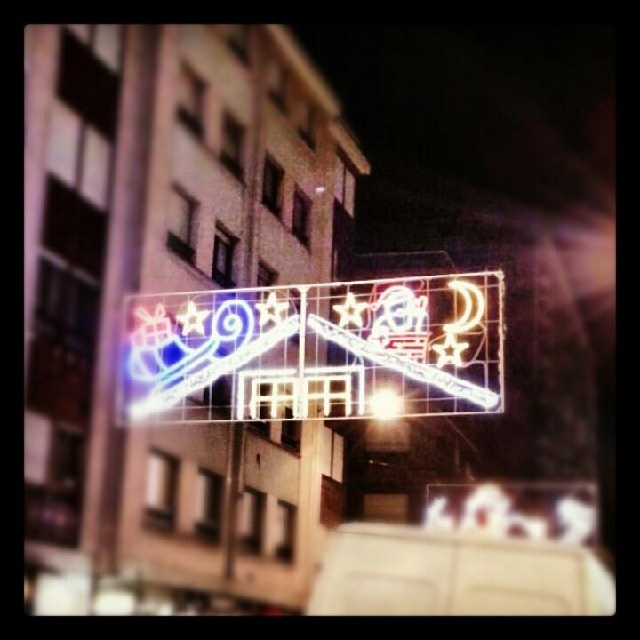 Iluminación en Gijón