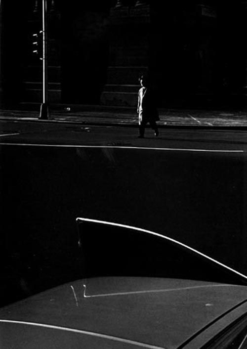 Fan Ho - Ray K Metzker. Philadelphia, 1964. S)