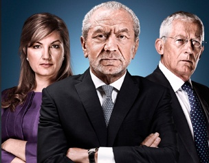 #TheApprentice (Karren Brady, Lord Alan Sugar, and Nick Hewer)