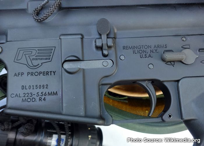 Philippine Army Accepts Delivery Of 40K Remington R4 Rifles