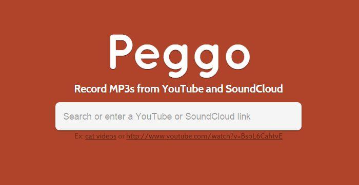 Bajar Mp3 de Youtube con Peggo