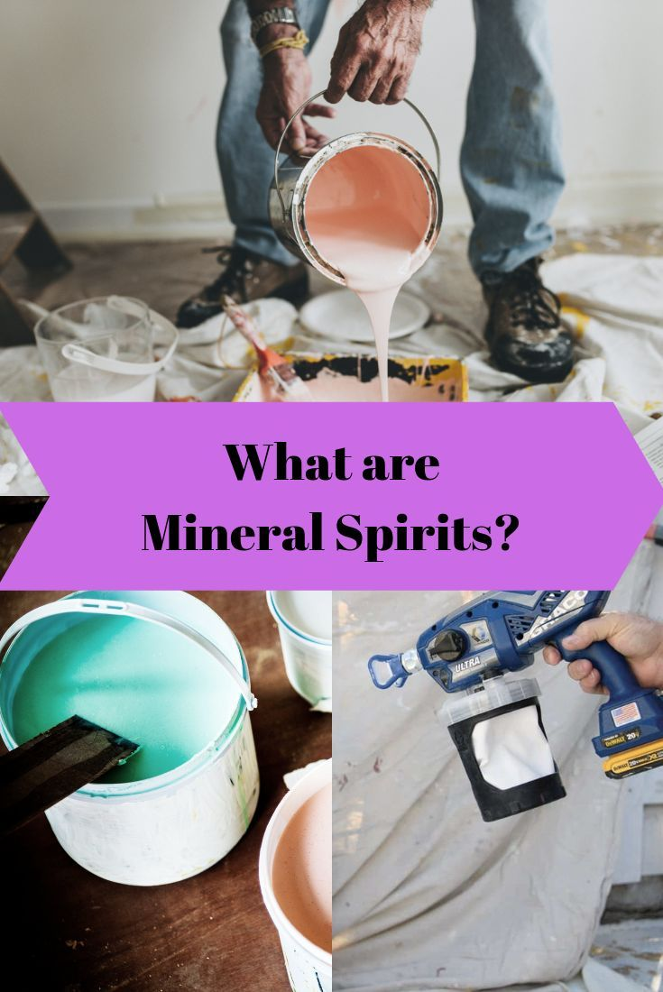 Mineral Spirit Uses In 2020 Mineral Spirits Best Paint Sprayer Paint Remover