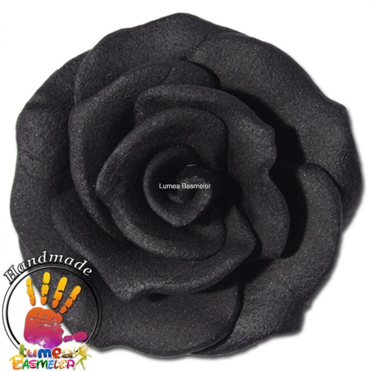 Trandafiri mici 42 buc negru