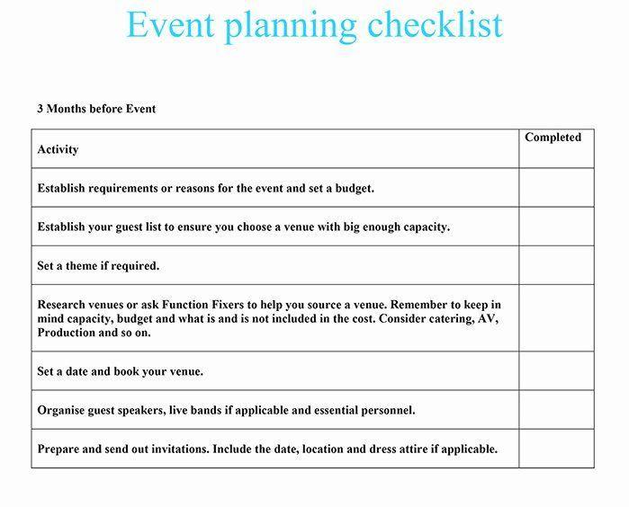 Event Venue Checklist Template Luxury Event Planning Checklist In