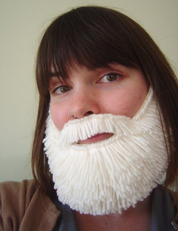 Fake Beard from I Made You a Beard, available for a limited time!