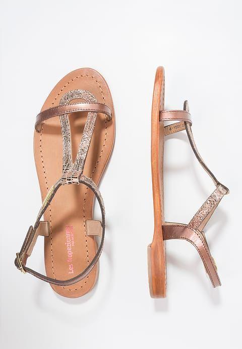 Chaussures Les Tropéziennes par M Belarbi HAMAT - Sandales - bronze bonzé: 59,90 € chez Zalando (au 20/04/17). Livraison et retours gratuits et service client gratuit au 0800 915 207.