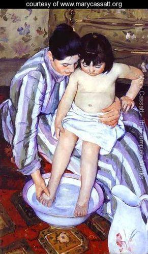 Mary Cassatt - The Bath 2