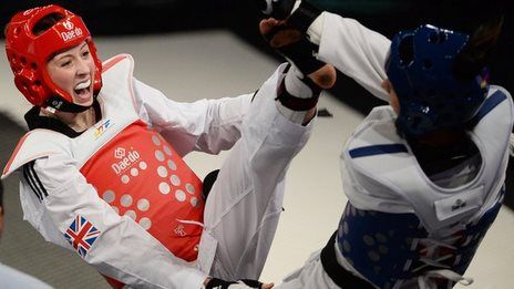British Olympic champion Jade Jones won silver in the -57kg at the World Taekwondo Grand Prix in Manchester.