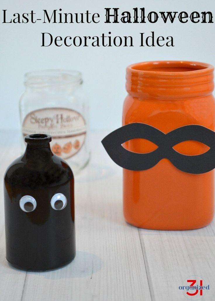 last minute halloween idea - Last Minute Halloween Decorations