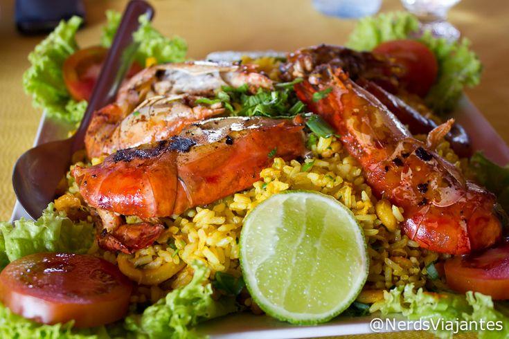 Risoto de Frutos do Mar - Restaurante Marina Tropical - Barreirinhas - Maranhão