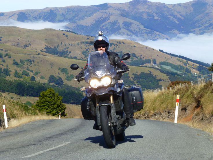 Akaroa Penisula. PeterPanBike's New Zealand.