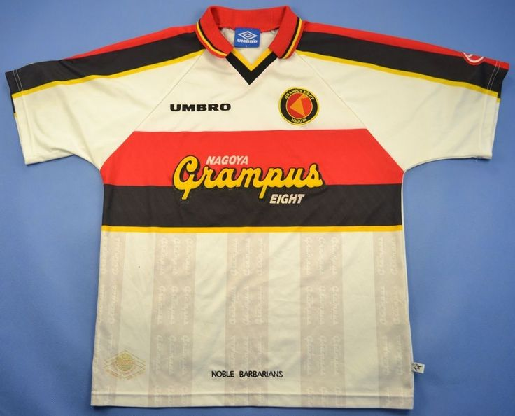 UMBRO NAGOYA GRAMPUS EIGHT JAPAN SHIRT JERSEY SIZE L | | Vintage Football Shirts