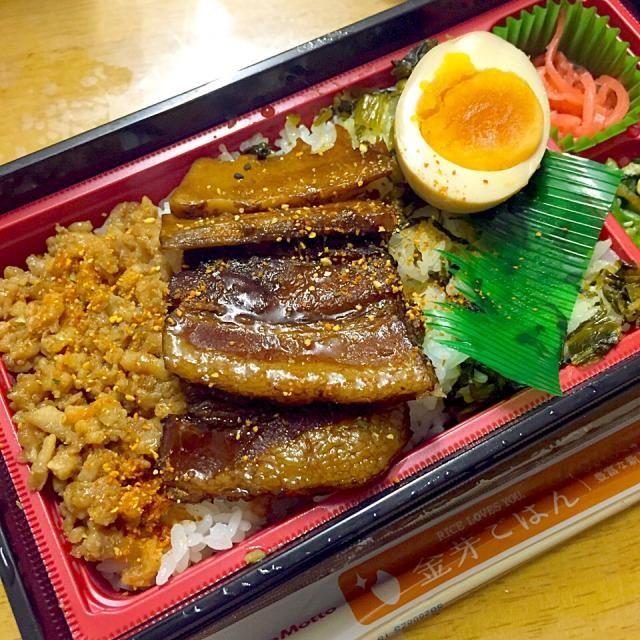 #bento #tokushima #japon 2014年10月17日発売開始 - 19件のもぐもぐ - 〜台湾風豚角煮重〜 ルーローハン by maixx ใหม่