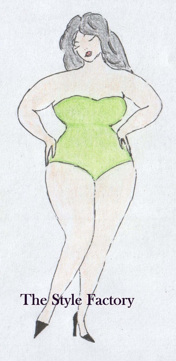Body Type X (hourglass)  Plus Size  // thestylefactory.pl //