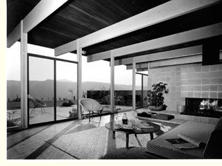 By the mid-1940s, Joseph Eichler had become intrigued by modernist design and in particular one of the creations of architect Frank Lloyd Wright, who had designed the Bazett house (Hillsborough, California), a rented home for Eichler during World War II.