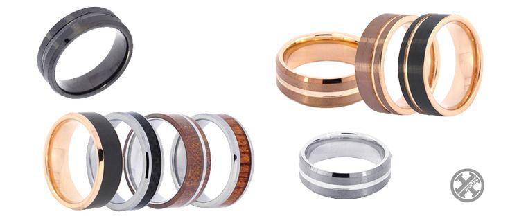 Anillos de tungsteno #anartxy #tungsteno #ring #anillo #alianzas #man #joyas #jewelry #estilo #style