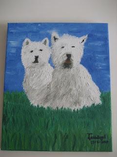 la pareja de perros - los dibujos de jose angel barbado