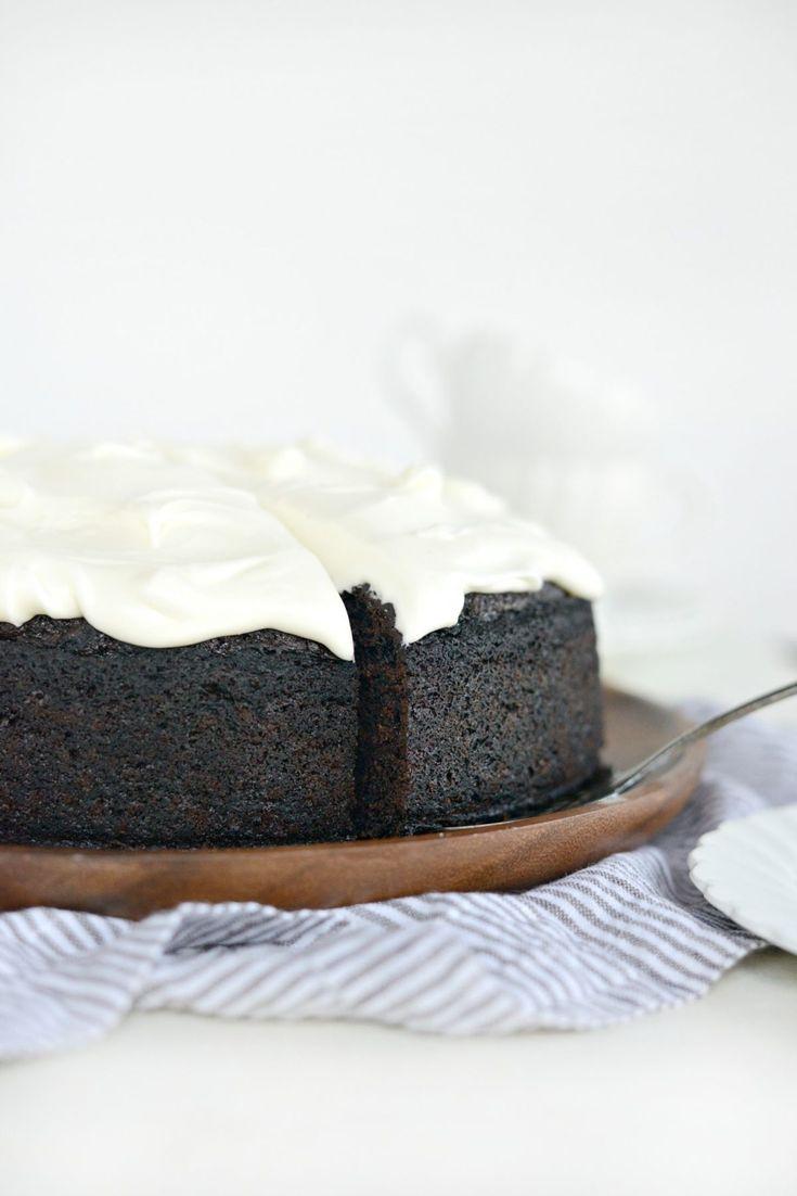 Nigella's Chocolate Guinness Cake l SimplyScratch.com