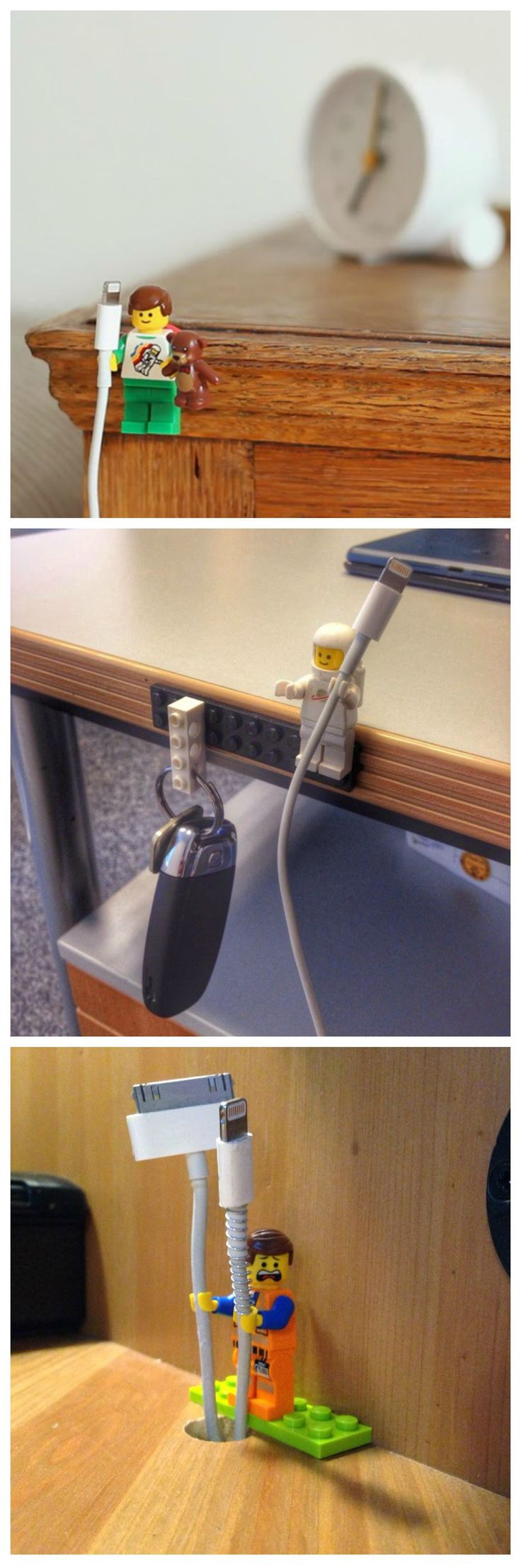 cable holders...
