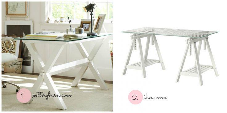 30 Ikea Glass Desk top - Modern Style Furniture Check more at http://michael-malarkey.com/ikea-glass-desk-top/
