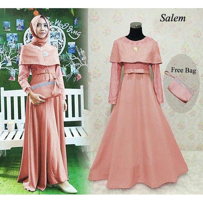 Baju Warna Salem