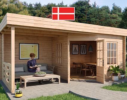 Gartenhaus Modell Hanna40 Gartenhaus, Haus und Flachdach